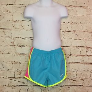 Nike Girls Shorts Athletic Sports Dri Fit 6X